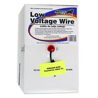Gto Rb509-250 Low Voltage Wire - 16 Gauage - Dual Stranded - Per Foot (250 Feet)