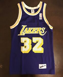 6d52643ce4a Rare Vintage Ravens Knit NBA Los Angeles Lakers Magic Johnson ...