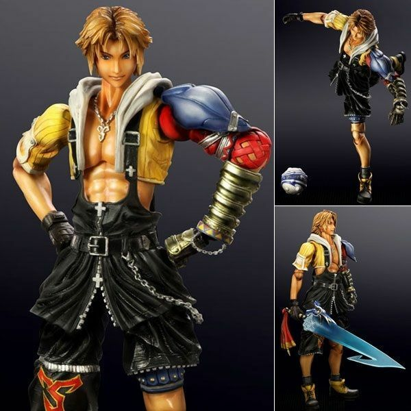 Final Fantasy X Tidus Play Arts Kai Official Merchandise Rare Brand New