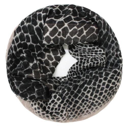 Glamexx 24 Motif Leopard XXL écharpe Tube environ Loopschal Femmes Leopard écharpe Filles