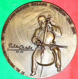 MUSIC / SPANISH CELLIST / CONDUCTOR / PABLO CASALS 1876 - 1976