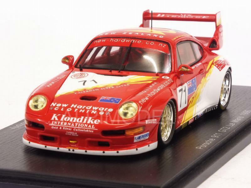 precios mas bajos Porsche 911 GT2 Le Le Le Mans 1996 Nearn - Farmer - Murphy 1 43 SPARK S5529  la mejor oferta de tienda online