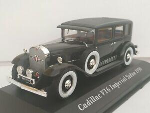 1-43-CADILLAC-V16-IMPERIAL-SEDAN-1930-COCHE-DE-METAL-A-ESCALA-SCALE-CAR-DIECAST