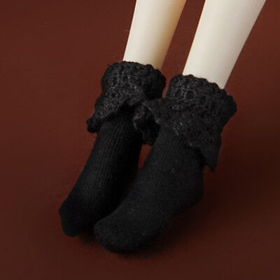 "PPM Ankle Socks Black Dollmore 12/"" Fashion Doll Size 12inch Size"
