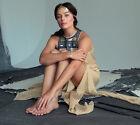 SASS AND BIDE - Margot Robbie - Think Twice maxi silk leg slit dress Size 8