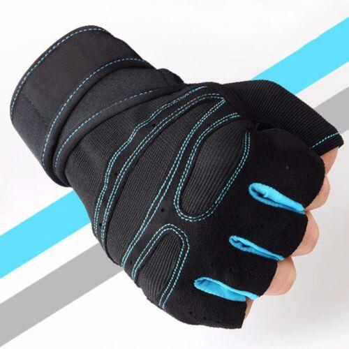 Fitness Gewichtheber Handschuhe Training Gymnastik Handgelenk Sport Exercise HJ