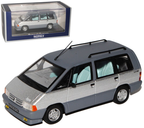 Renault Espace I 1 Generation Silber 1984-1990 1//43 Norev Modell Auto mit ode..
