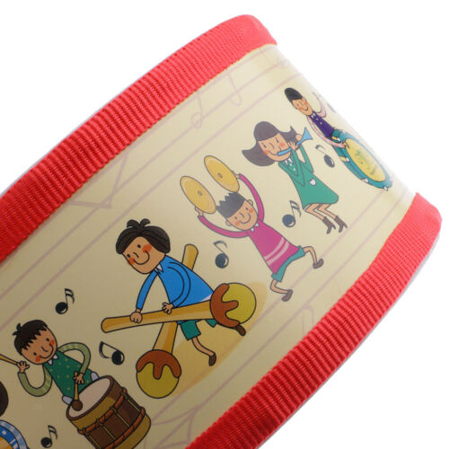 Snare Drum Polyester Hand Percussion Set for Kids Musical Instrument Toys