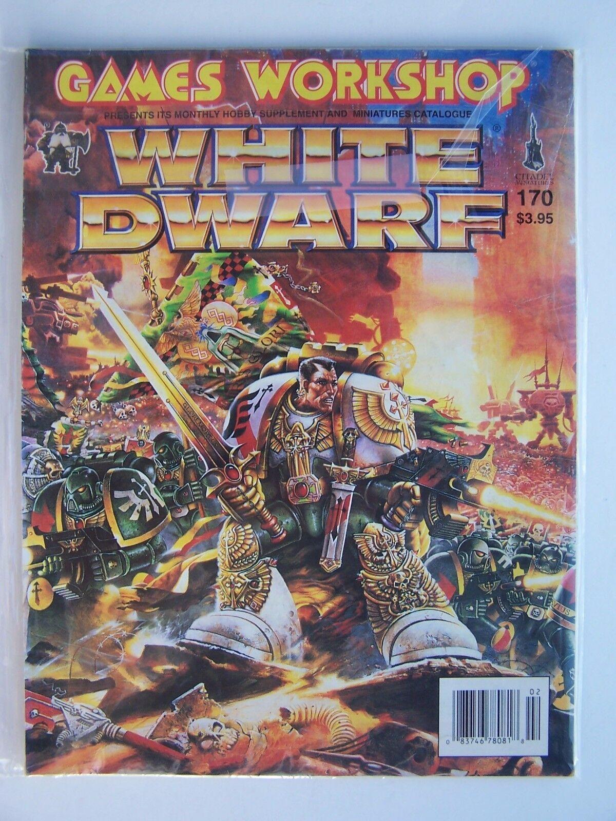 White Dwarf #170 February 1994 Paperback Magazine