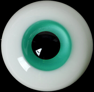 Nice 10mm Blue Iris/&Black Pupil Glass Eyes for Joint  DOD DZ 1//6 BJD Dollfie