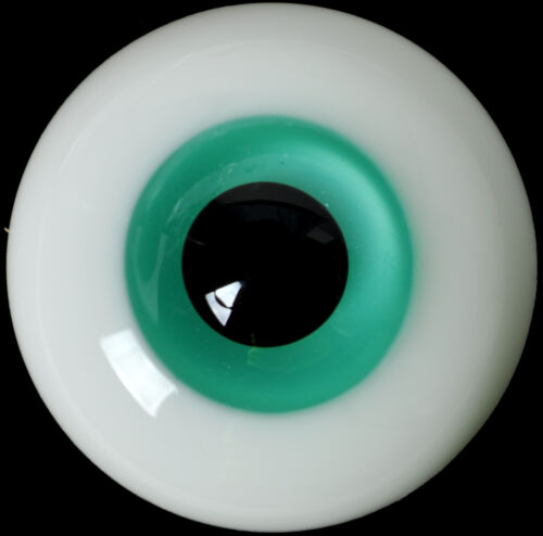 DarkBrown Iris/&Black Pupil for Iplehouse Luts BJD Doll Nice 14mm Glass BJD Eyes