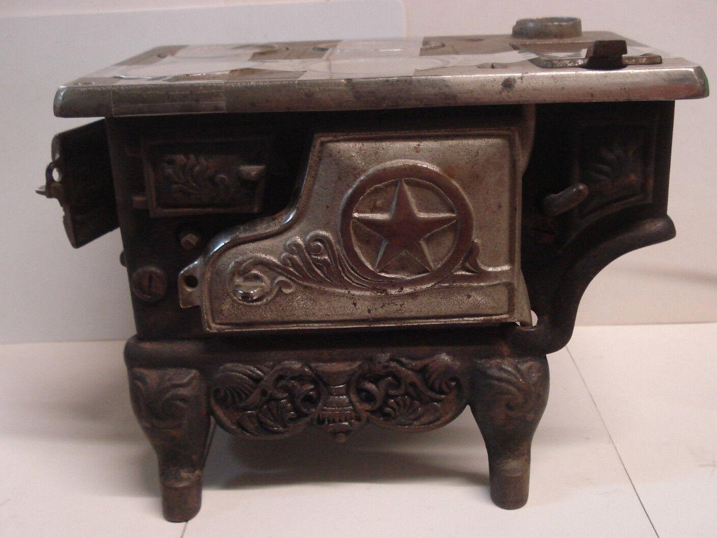 Perfection Mini Estufa de hierro fundido-Vintage vendedor muestra