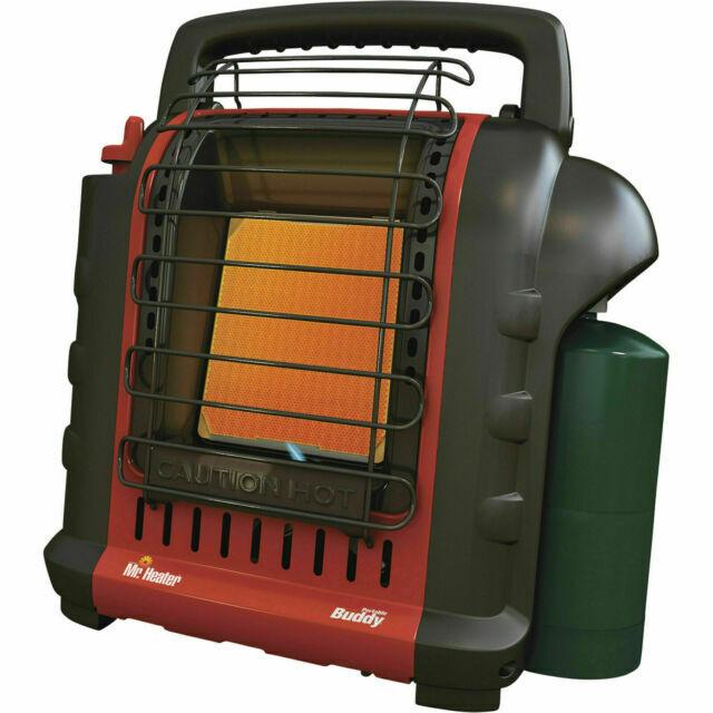Mr. Heater F232000 MH9BX Buddy 4,000-9,000-BTU Indoor-Safe Portable Propane