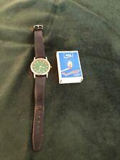 Ricardo Quartz Herren Armbanduhr mit grünem Ziffernblatt