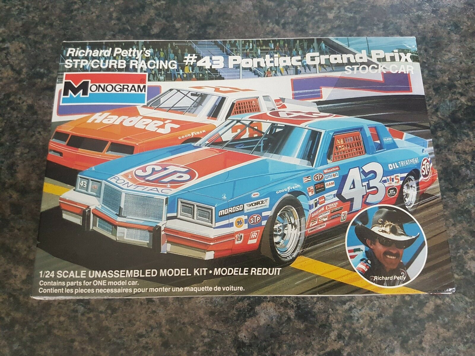 Monogram 1 24 Richard Petty 43 Pontiac Grand Prix Great Condition Very Rare