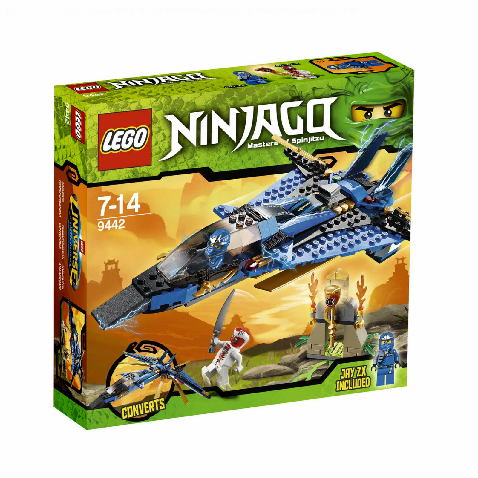 LEGO Ninjago Jay s Storm Fighter inklusive Jay ZX - samlaor s 2011 släpp Herregud