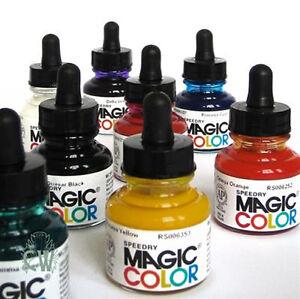 MAGIC-COLOR-Liquide-Acrylique-Encre-Couleur-28ml-couleurs-unique-encre-artistes-dessin