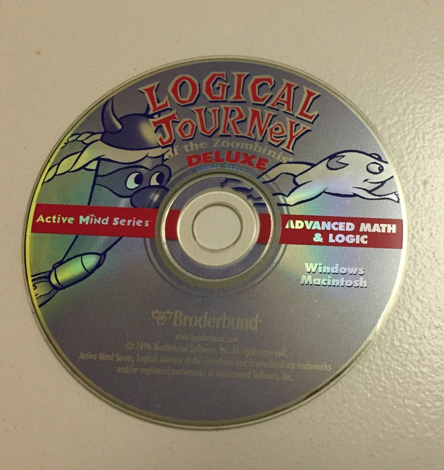 Logical Journey of the Zoombinis Deluxe - Advance Math & Logic CD