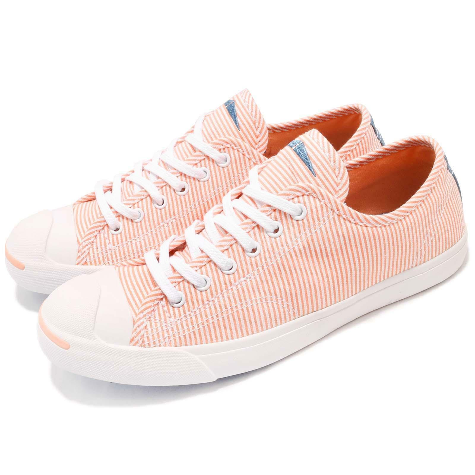 Converse Jack Casual Purcell LP L/S Pink White Canvas Women Casual Jack Shoe Sneaker 560835C aa50d8