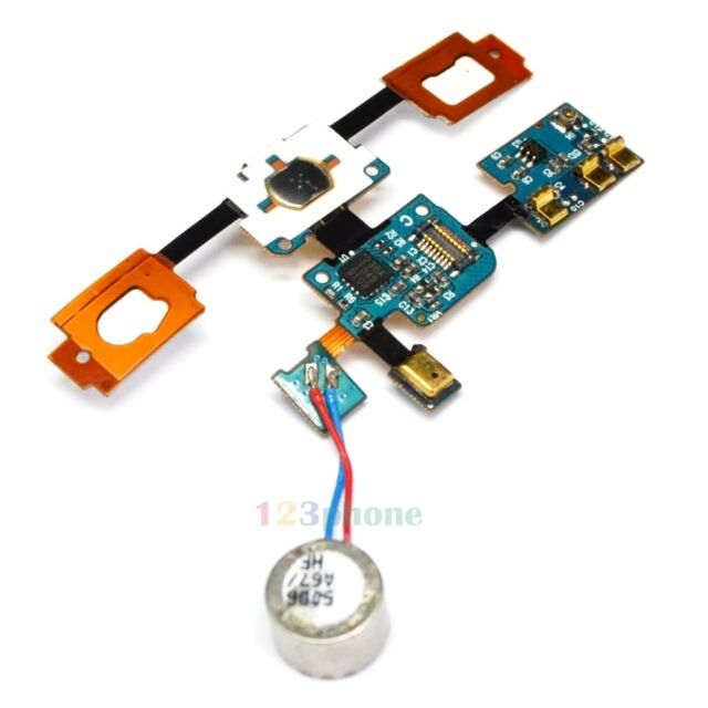 HOME BUTTON KEYPAD & VIBRATOR FLEX CABLE FOR SAMSUNG GALAXY S I9000 #A-389