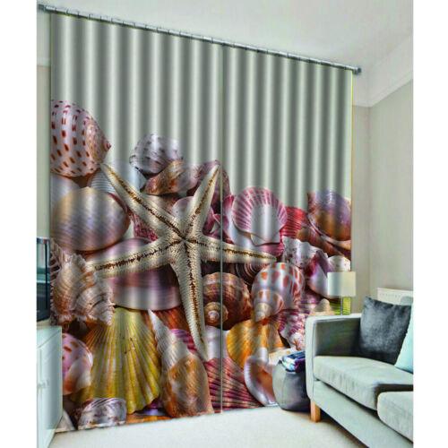 Decorazione 3D di tema stampato finestra della camera da letto della tenda