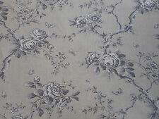Ralph Lauren Curtain Fabric 'Ashfield Floral' 3.6 METRES Leaf Fall - 100% Linen