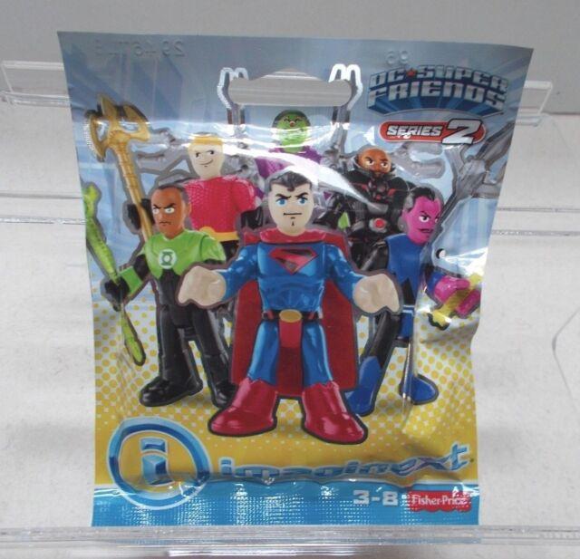Imaginext DC Super Friends Blind Bag Mini Figures Superboy Series 4