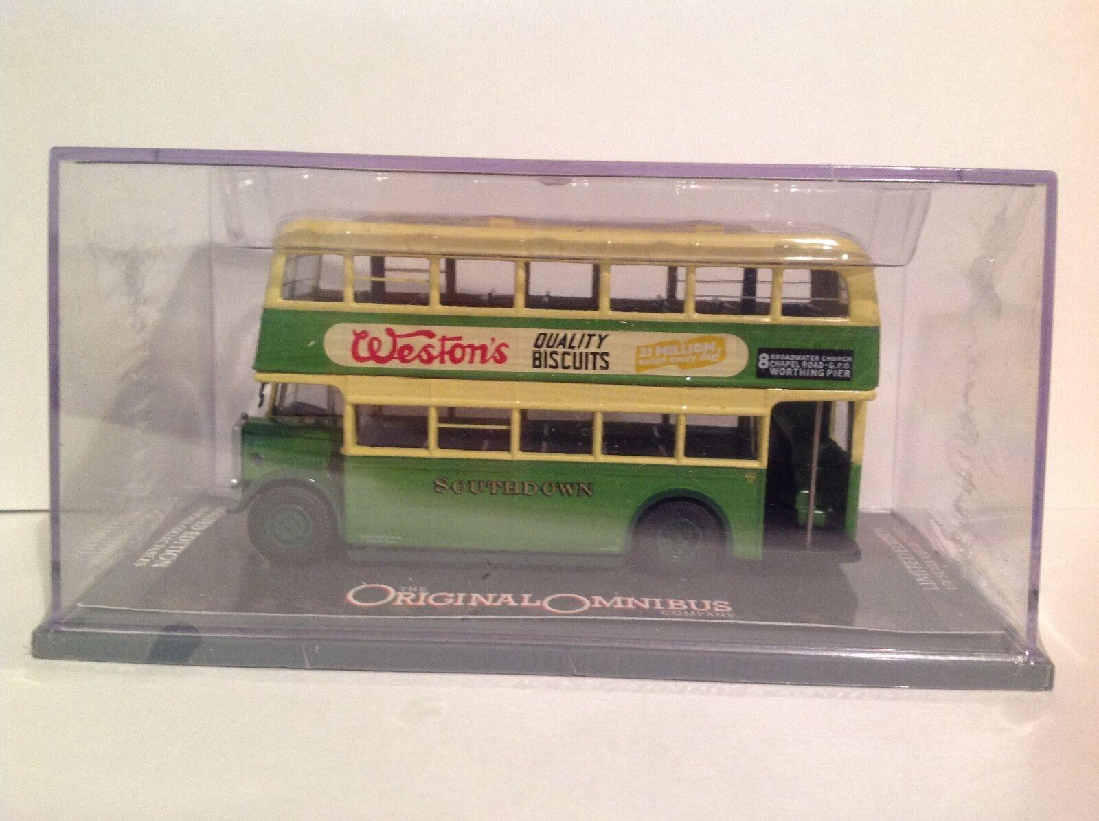OM43909 Guy Arab Utility Bus Southdown Motor Services LTD Edition 0001 of 2500