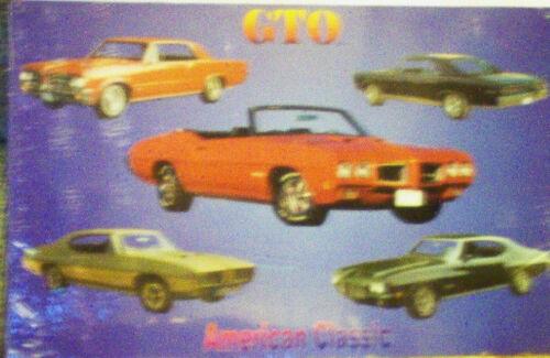 Pontiac GTO Vintage reproduction M462 mancave garage  rec room