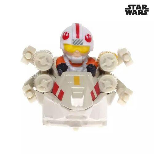 Hot Wheels Star Wars Mattel Battle Rollers  Set of 5 Rey Luke Boba Darth Emperor