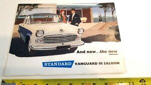 1960-STANDARD-VANGUARD-Original-Sales-Brochure-Very-Good-Condition-CDN