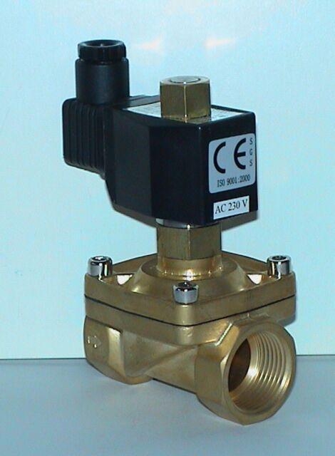 Magnetventil CEME 3//4 0-4bar NC Heizung Wasser 12V 24V 230V