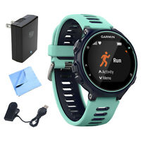 Garmin Forerunner 735xt Gps Running Watch (midnight Blue) W/ Accessories Bundle