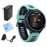 Garmin Forerunner 735xt Gps Running Watch (midnight Blue) W/ Accessories Bundle