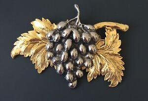 Vintage-Large-grape-cluster-brooch-pin