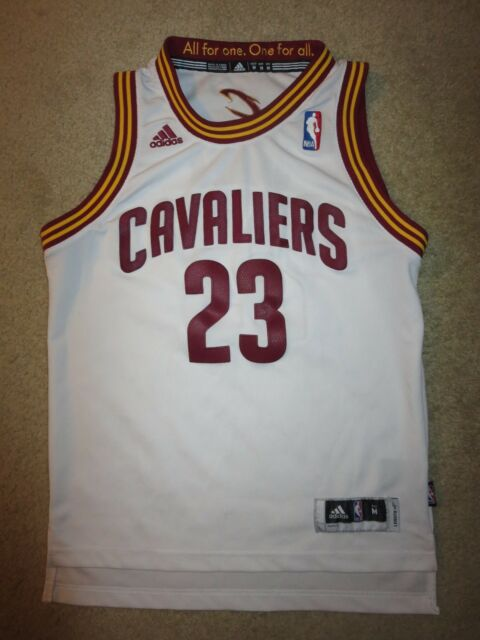 LeBron James  23 Cleveland Cavaliers Adidas NBA Finals Jersey Youth M 10-12 4f542bb64