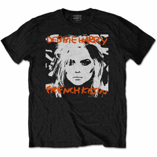 DEBBIE HARRY T Shirt French Kissin Blondie Black Unisex New Size S M L XL XXL