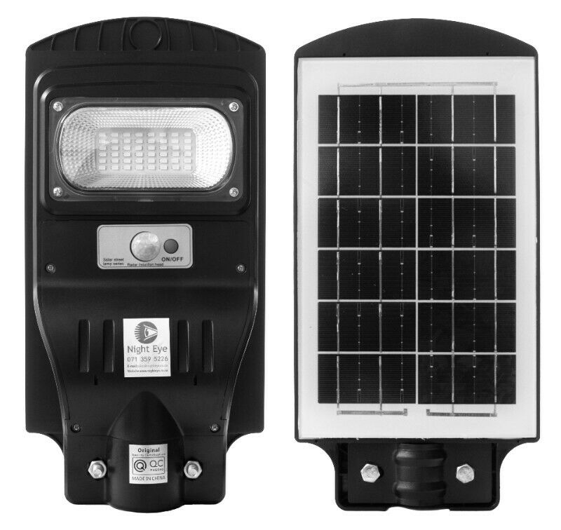 30W LED Solar Street/Outside Light with Remote Control