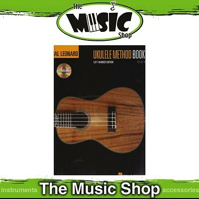 New Hal Leonard Ukulele Method Book 1 with CD - Left-handed Edition