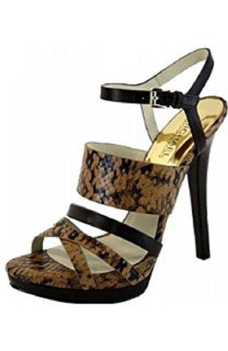 Michael Kors Nadja Sandale Platform/High Heel Sandale Nadja Snake Schuhe a6b494