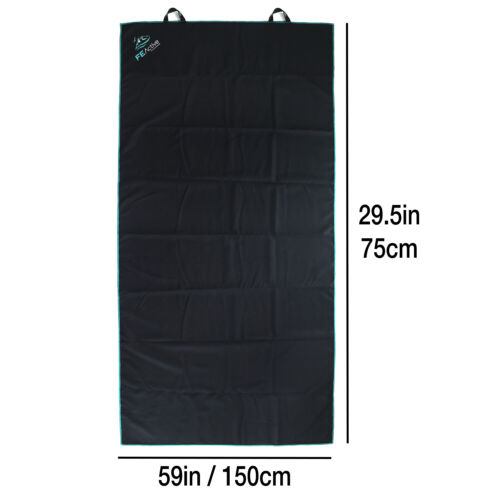 Compact Quick Dry FE Active Large Microfiber Towel with Breathable Carry Bag