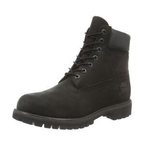 6 Unido negro impermeables 6 nubuck pulgadas 5 Timberland negro Reino premium Hombre botas axqFF5Ow
