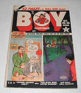 Boy Comics # 58..FINE...6.0 grade--A....1950 comic book