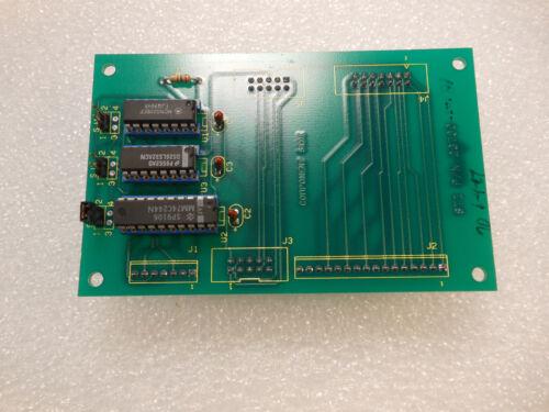 Semitool 23730 PCB Wafer Rotor Intercom Board