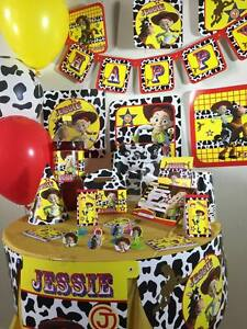 toy story jessie happy birthday party pack supplies Free shipping