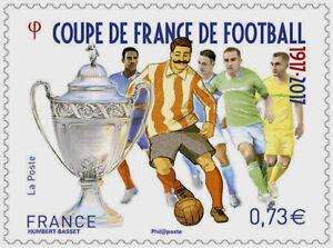 TIMBRE-5145-NEUF-XX-Coupe-De-France-De-Football-1917-2017