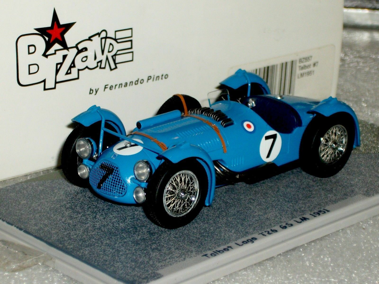 Talbot Lago T266S  7 LE MANS 1951 BIZARRE BZ557 1 43 1 43
