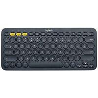 Logitech K380 79-key Compact Multi-device Wireless Bluetooth V3 Keyboard - Gray