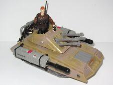 G.I. Joe toy figure e veicolo Set PANTHER TANK con il sergente thunderblast