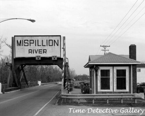 Bridge over the Mispillion River Historic Photo Print Milford Delaware